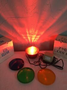 CAL PUMP 725 Underwater Pond Fountain Light 120/12 Low Volt with Color Lens Kit