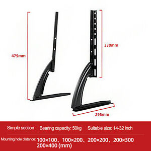 "TV Stand Universal Display Bracket For Wall LCD LED 14""-65"""