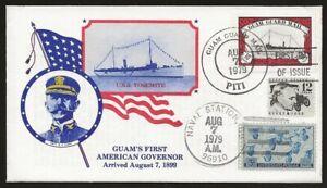 USA Local Guam Guard Mail YOSEMITE Ship 1st Day Cover AUG.7.1979 cancel VF