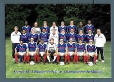 FRANCE - FRANCIA - Cart. Post. - 1998 - FRANCE 98 - Campionato mondiale di calci