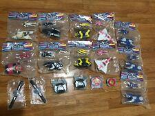 Vintage Power Rangers lot of 17 Vehicles W/ Figures 1995 McDonalds Toys