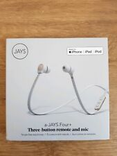 A-JAYS FOUR PLUS IN EAR EARPHONES FOR IOS - WHITE/GOLD - T00153