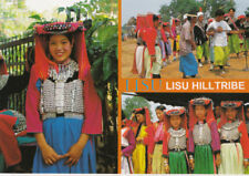 Thailand Postcard - Lisu Hill Tribe - Northern Thailand - Ref 2300A