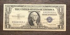 1935-H Silver Certificate 1$ Dollar Bill Note (P528)