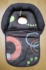 Boppy Noggin Nest Head Support for Infants Brown Wheels