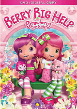 Strawberry Shortcake: Berry Big Help DVD DIGITAL COPY SHIPS NEXT DAY KIDS CHILD