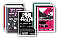 Pink Floyd  - 10 promotional posters - collectable postcard set # 1
