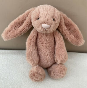 Jellycat Small Bashful Apricot Bunny Rabbit Soft Toy Comforter Baby