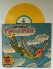 VTG Golden Record RD35 Walt Disney's Peter Pan You Can Fly & Theme Song 78RPM