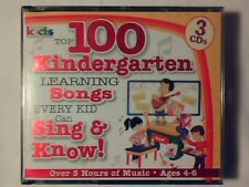 3CD 100 kindergarten learning songs - Every kid can sing & know (ages 4-6) RARE