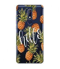 Coque Nokia 5.1 2018 Ananas hello tropical fruit Exotique