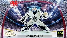 IMPORTS DRAGON NHL LIMITED EDITION TORONTO MAPLE LEAFS - ED BELFOUR FIGUR - NEU