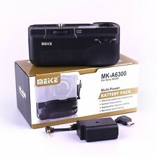 Meike MK-A6300 Vertical Hand Battery Grip for Sony Alpha A6300 A6000 Camera