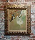 Manner of Edgar Degas Ballerina Dancer -Oil painting on canvas