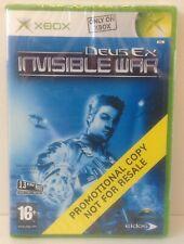 original XBOX Deus Ex : Invisible War *** COMPLETE *** PAL 2 * PROMOTIONAL COPY
