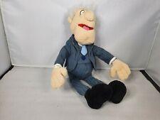 Disney Store The Muppets Show - Statler - Soft Plush Stuffed Teddy Toy Waldorf