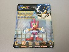 2000# VINTAGE SEGA  SONIC  X. THE HEDGOG BENDABLE ACTION FIGURES AMY#MOSC