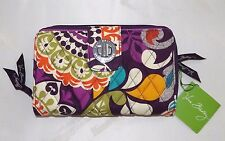 VERA BRADLEY - TURNLOCK WALLET - PLUM CRAZY - BRAND NEW WITH TAG - BEAUTIFUL!