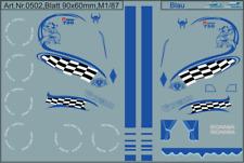 H0/1:87 DIS 0502 Decals Scania CR Fahrerhausdekor Maßstab1/87 für Zugmaschinen