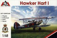 AMG 48902 Hawker Hart I plastic model kit 1/48