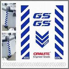 5x GS Blue Reflective Stripes ADESIVI PEGATINA R 1200 1150 F 800 650 700 GS A