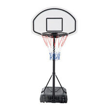 Adjustable Height Basketball Hoop System Backboard Swimming Pool Games Sport