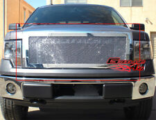Fits 2009-2012 Ford F150 Stainless Steel Mesh Grille Grill Insert