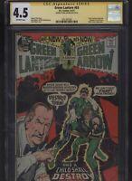 Green Lantern #83 CGC 4.5 SS Neal Adams 1971