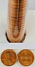 1960-P Lincoln Memorial Penny Roll of 50 UNC