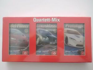 Quartett-Mix Rennsport:Edel Flitzer-Luxusklasse-Prototypen - NEU in Folie !!!