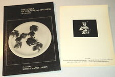 JAN FABRE: THE POWER OF THEATRICAL MADNESS 1984 THEATER PROGRAM & MAPPLETHORPE