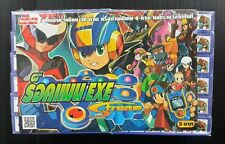 VINTAGE ANIME JAPAN CAPCOM ROCKMAN MEGAMAN EXE STICKER SEALED PACK! MEGA RARE!!!