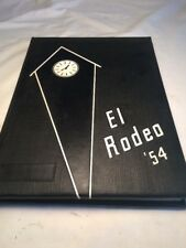 Vtg 1954 Yearbook California State Polytechnic College El Rodeo San Luis Obispo