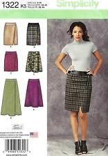 Simplicity Pattern S1322 Skirt Sized to Fit My Size Barbie