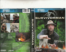 Survivorman-2004/14-TV Series Canada-[9 Episodes-2 DVD Set]-2 DVD
