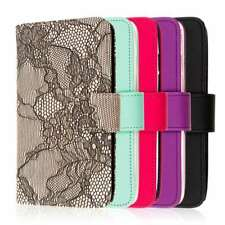 Wallet Credit Card ID Case Cover Wrist Strap Protector for Motorola DROID Turbo