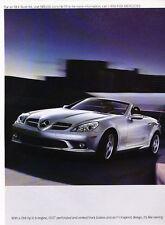 2005 Mercedes Benz SLK350 2-sided SLK - Classic Vintage Advertisement Ad PE93