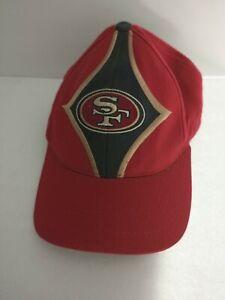 Vintage San Francisco 49ers Starter 1990's NFL Embroidered Hat Cap Diamond