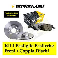 KIT DISCHI + PASTIGLIE BREMSI ANTERIORI FIAT GRANDE PUNTO 1.3MJET JTD 55Kw 75CV