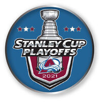 COLORADO AVALANCHE PLAYOFFS PIN 2020 - 2021 NHL STANLEY CUP FINALS ? HOCKEY