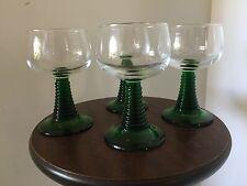 Retro Luminarc Beehive Stem Wine Glasses