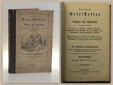 Wagner Praktischer Briefsteller Ratgeber Musterbuch 1888 Geschäftshandbuch xz