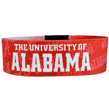 NEW! Alabama Crimson Tide Roll Bracelet NCAA Wristband Power Band