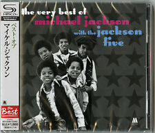 MICHAEL JACKSON-THE VERY BEST OF WITH THE JACKSON FIVE-JAPAN SHM-CD D50