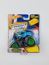 Hot Wheels Monster Crushtation 1/64th Monster Truck with stunt ramps