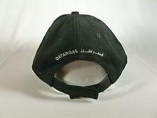 Men's Black Qatar Gas Hat Rare Adjustable Mideast UAE Arabic Adjustable Quality