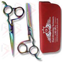 """6"""" Titanium Hairdressing Scissors Barber Scissor Salon Hair Cutting Razor Sharp"""