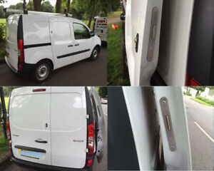 Mercedes Citan 2013> Rear Van Deadlock Security Kit