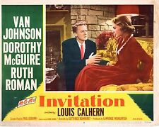 "Van Johnson Dorothy McGuire Invitation Original 11x14"" Lobby Card LC71"