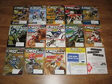15 Dirt Rider Mags  KTM CRF450, YZ450, 250 450 Shoot Out, 576 EXC Gas Gas YZ125